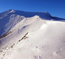 Blencathra beneath winter snows by WillH