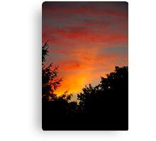 Parry Arc - Sunset 07-25-2010  Canvas Print