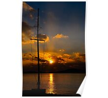Es Forti Sunset III Poster