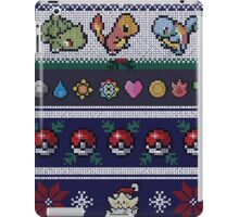 Pokemon Pixel Christmas Jumper iPad Case/Skin