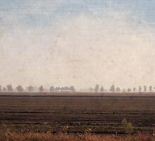 turner in the po valley by alinecaldwell