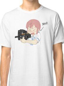 Nichijou - P90 Misato Classic T-Shirt