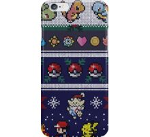 Cute Video Game Pixel Christmas iPhone Case/Skin