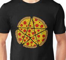 Satan Loves Pizza Unisex T-Shirt