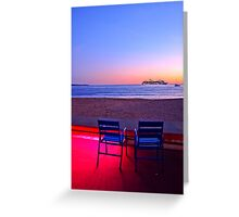 a view for 2 Greeting Card