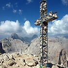 Summit Cross in the Dolomites by WillH