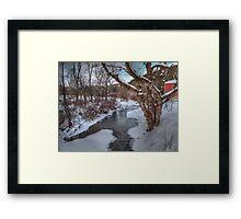 Winter's Landscape Framed Print