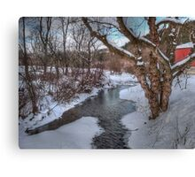 Winter's Landscape Canvas Print