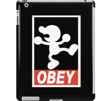 OBEY Mr. Game & Watch iPad Case/Skin