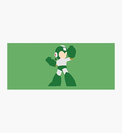 Mega Man (Green) - Super Smash Bros. Photographic Print
