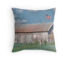 Farmland Icon Throw Pillow