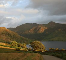 Leaving Crummock Water by Linda Lyon
