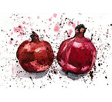 Pomegranate Evening Photographic Print