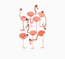 Flamingo's Womens Fitted T-Shirt