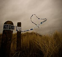 Police Tape by Josh  Glover
