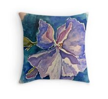 Australian hibiscus flower Throw Pillow