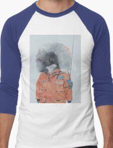 Antarctic Penguin Men's Baseball ¾ T-Shirt