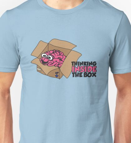 Thinking inside the box Unisex T-Shirt