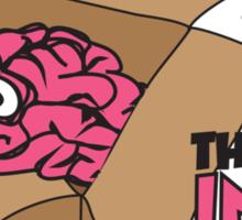 Thinking inside the box Sticker