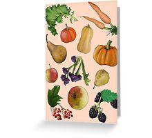Seasonal Selection Greeting Card