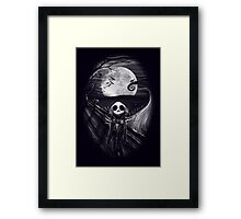 The Scream Before Christmas Framed Print