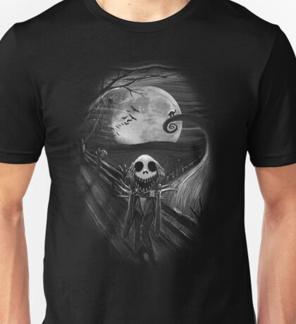 The Scream Before Christmas Unisex T-Shirt