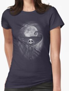 The Scream Before Christmas Womens Fitted T-Shirt