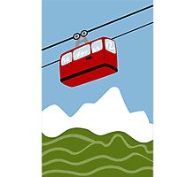 Funicular Photographic Print