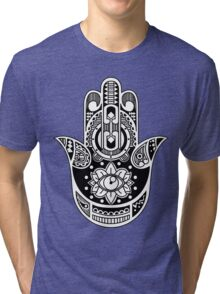 The Hamsa Hand Tri-blend T-Shirt