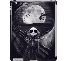 The Scream Before Christmas iPad Case/Skin