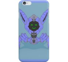 Baby Blue Beep Bot   iPhone Case/Skin