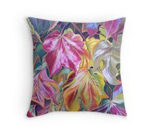 Stunning array of Autumn colours Throw Pillow