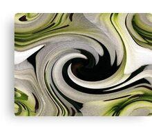 Endless Love Twirls Canvas Print