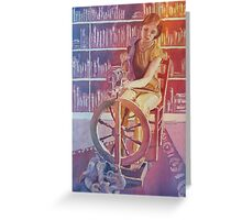 Spinning Tales Greeting Card
