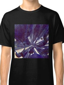 Blue Flow - Abstract CG Render Classic T-Shirt