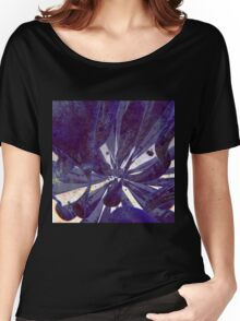 Blue Flow - Abstract CG Render Women's Relaxed Fit T-Shirt