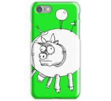 Bovine Transportation! Cows par avion ... iPhone Case/Skin