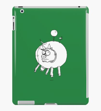 Bovine Transportation! Cows par avion ... iPad Case/Skin