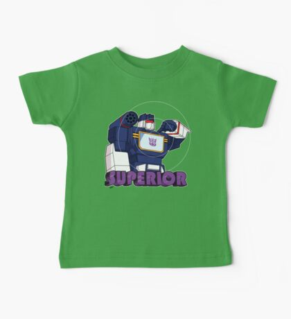 Soundwave: Superior (bust) Baby Tee