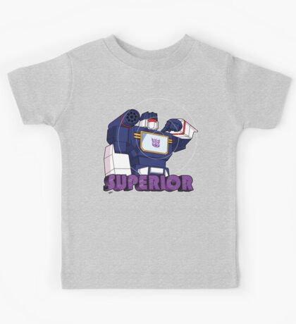 Soundwave: Superior (bust) Kids Tee