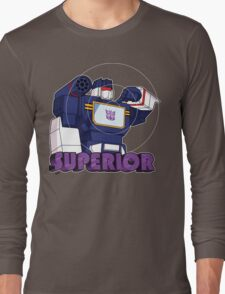 Soundwave: Superior (bust) Long Sleeve T-Shirt