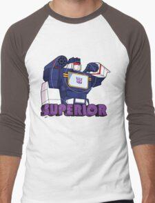 Soundwave: Superior (bust) Men's Baseball ¾ T-Shirt