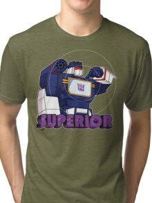 Soundwave: Superior (bust) Tri-blend T-Shirt