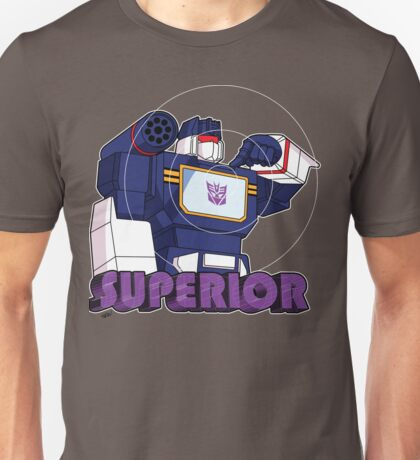 Soundwave: Superior (bust) Unisex T-Shirt