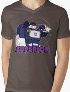 Soundwave: Superior (bust) Mens V-Neck T-Shirt