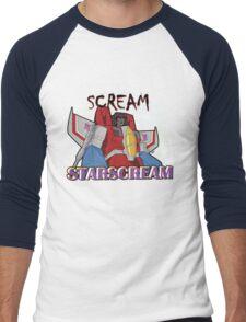 We All Scream for Starscream (dark tee) Men's Baseball ¾ T-Shirt