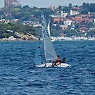 Sunday Afternoon Sail by Mark  Lucey