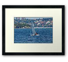 Sunday Afternoon Sail Framed Print