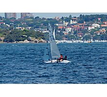 Sunday Afternoon Sail Photographic Print