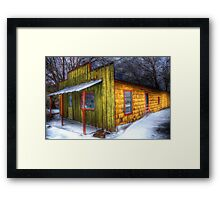 Real Estate Bldg For Sale -  Springtown, Texas Framed Print